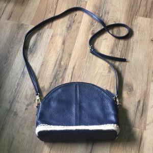 brand new talbots pebble leather bag